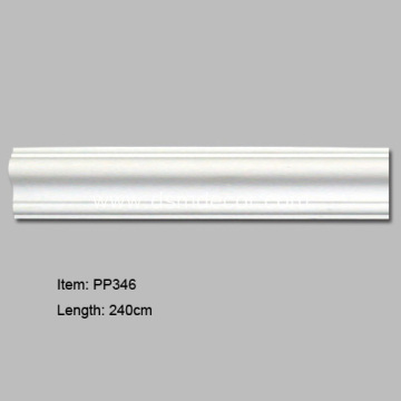 Pu Decorative Plastic Wall Panel Moulding